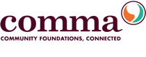 Comma | Community Foundation Communicators